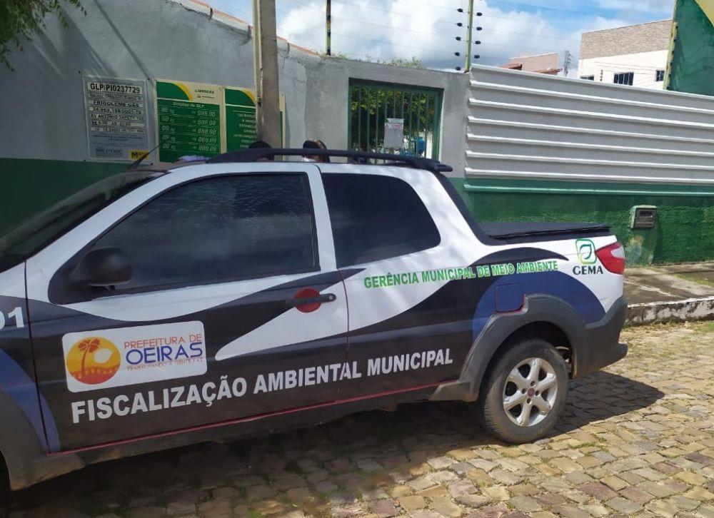 Procon deflagra operação para combater preços abusivos na venda de gás de cozinha e combustível em Oeiras 2