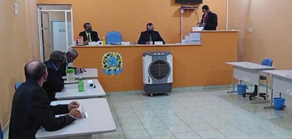 Momento da votação em Santa Rosa do Piauí