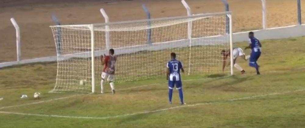 Gol do Fluminense Piauí, foi nos acréscimos
