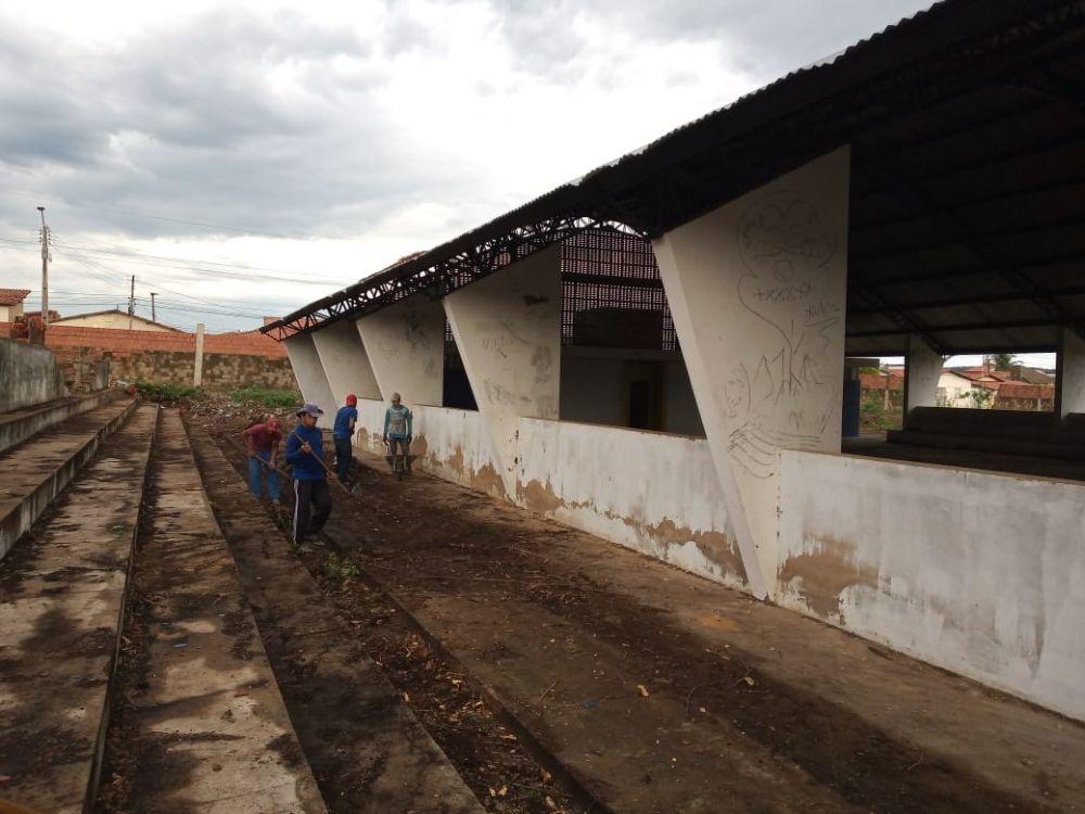Governo inicia reforma do Centro Desportivo de Oeiras (Foto: Oeiras em Foco)
