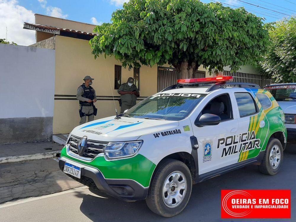 Polícia Militar de Oeiras (Foto: Oeiras em Foco)