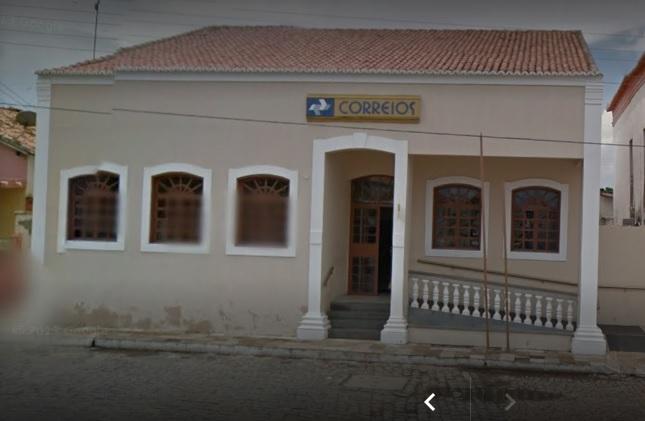 Prédio do Correios de Oeiras (Foto: Google Maps)
