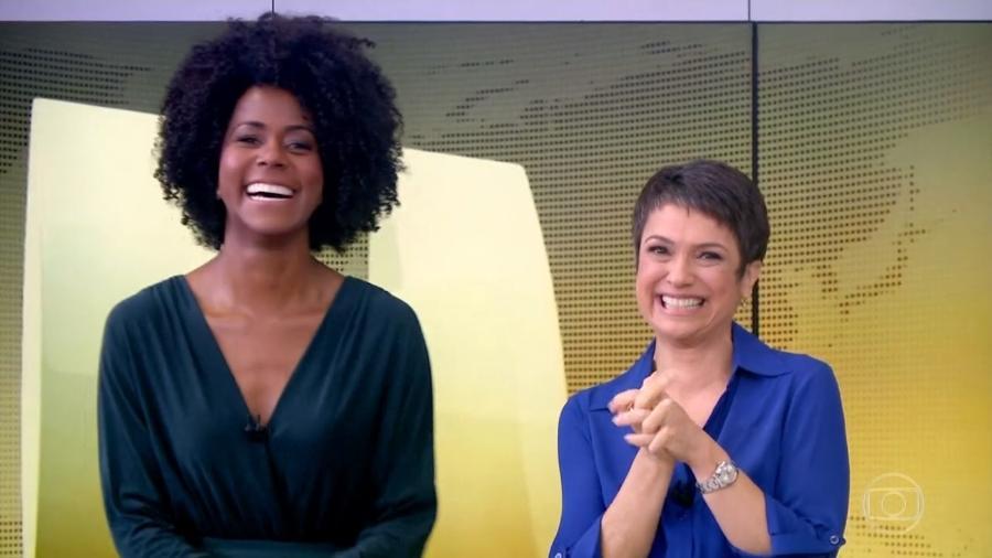 Maju substituirá Sandra no Jornal Hoje (Foto: Reprodução Instagram)