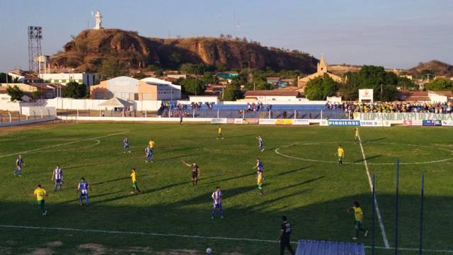 Oeirense x Picos, Estádio Gerson Campos