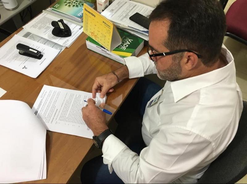 Prefeito de Oeiras, José Raimundo PP (Foto: Ascom)