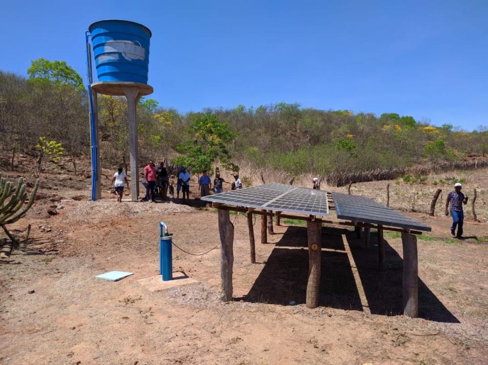Comunidade Quilombola da zona rural de Oeiras é beneficiada com Poço Tubular