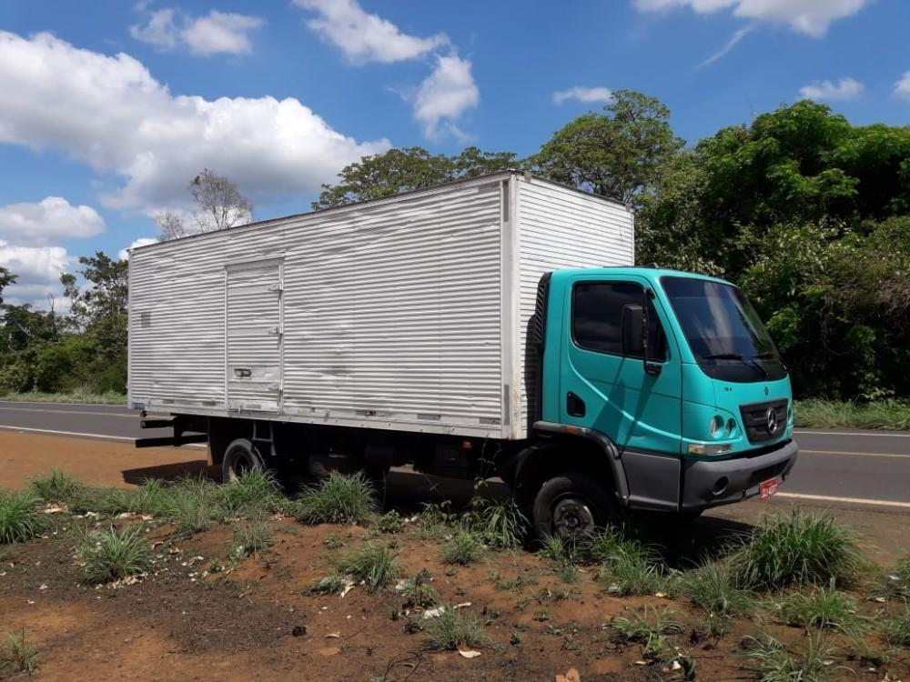 Caminhão Roubado (Foto: Reprodução)