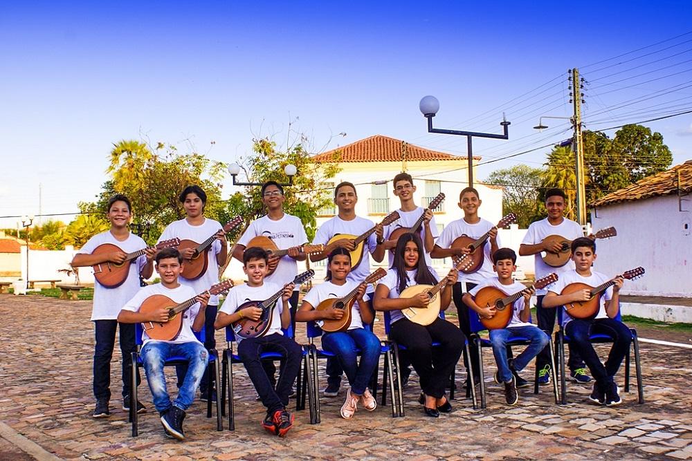 Orquestra Bandolins de Oeiras (Foto: Reprodução)