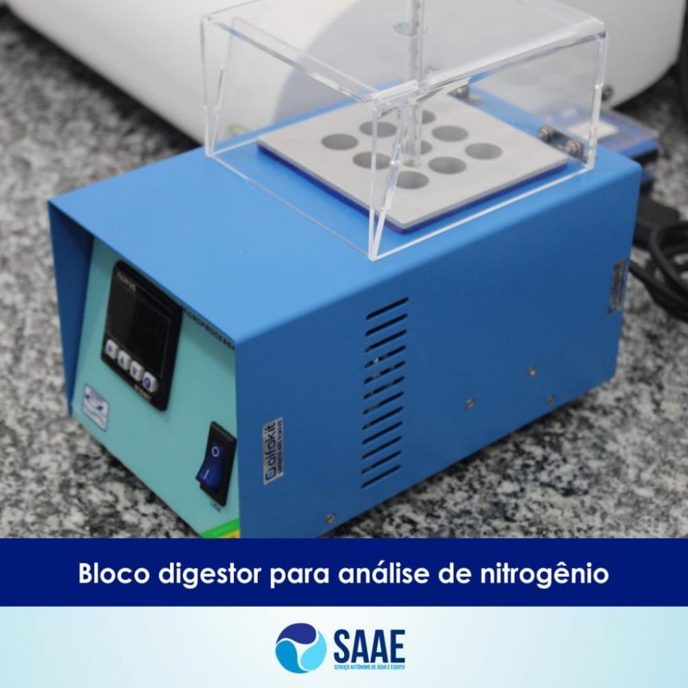 SAAE adquire novos equipamentos para controle de qualidade da água em Oeiras
