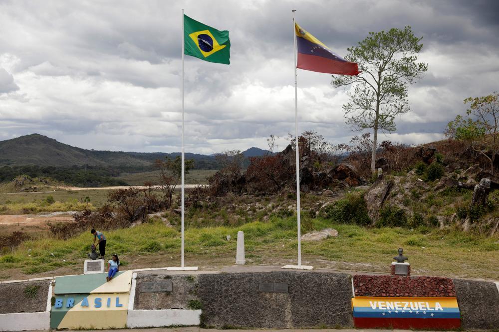 Fronteira entre Brasil e Venezuela (Foto: Estadão)