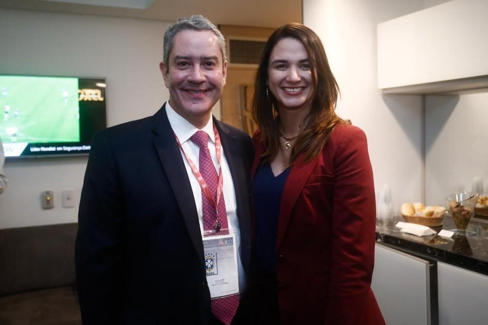 Michelle Ramalho fez revelação após reunião com Rogério Caboclo (Foto: Globo Esporte)