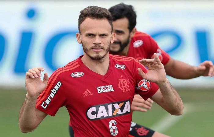 Lateral Renê do Flamengo (Foto: Reprodução)