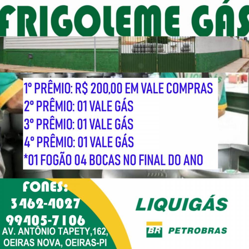 Frigoleme Gás lança uma mega promoção para você; Veja