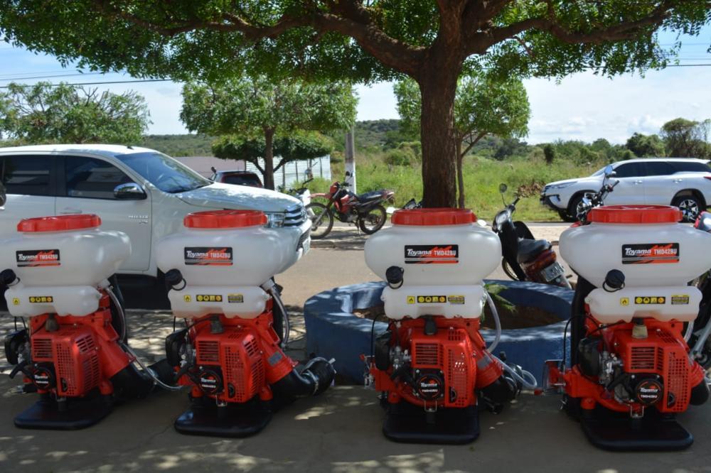 Prefeitura adquire novos equipamentos e reforça ações de sanitização em Oeiras