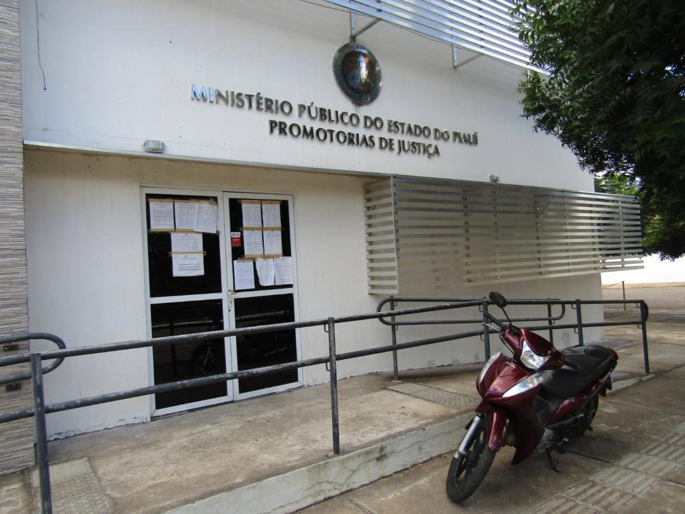 Ministério Público do Piauí, sede Oeiras (Foto: Oeiras em Foco)