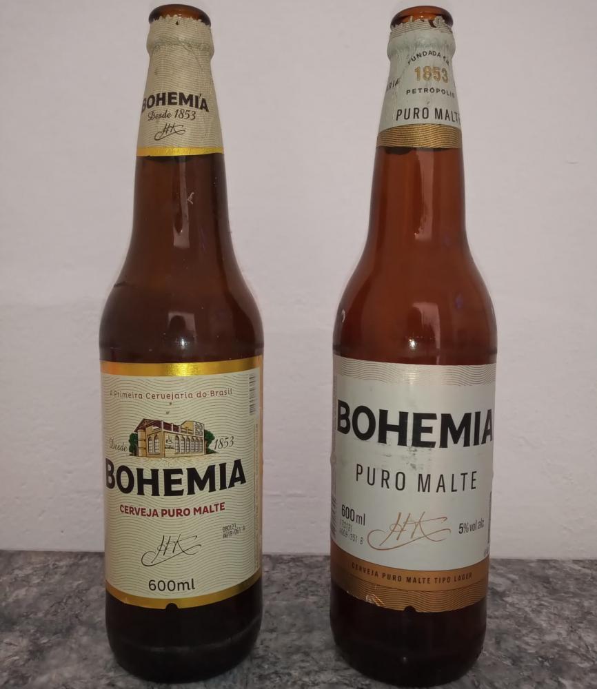 Bohemia mudou de rótulo (Foto: Oeiras em Foco)