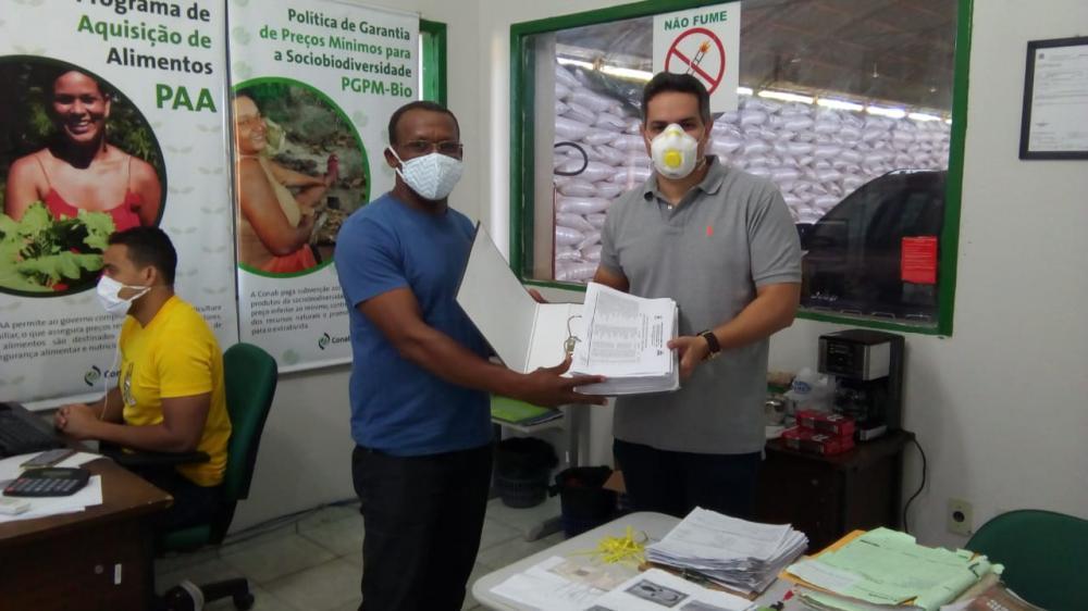 Agricultores Familiares oeirenses são cadastrados na CONAB-PI