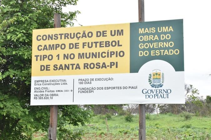 Prefeito de Santa Rosa e Érica construções se posicionam sobre paralisação da obra em estádio