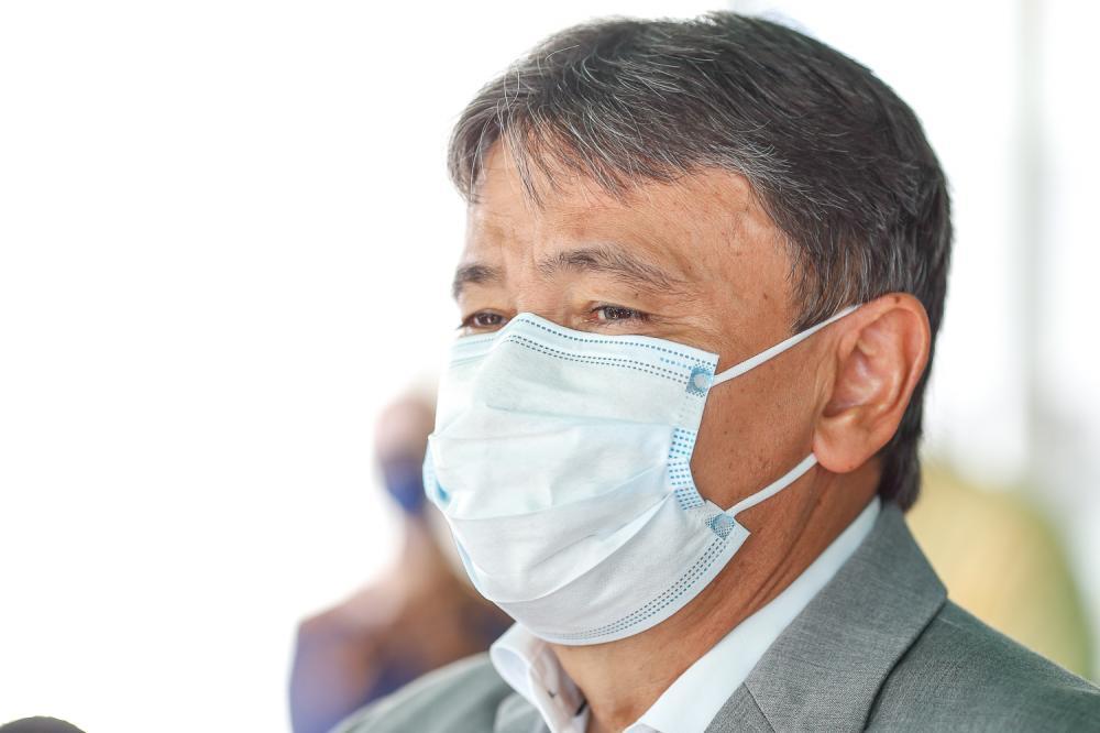 Quem não usar máscara será multado, diz Wellington Dias