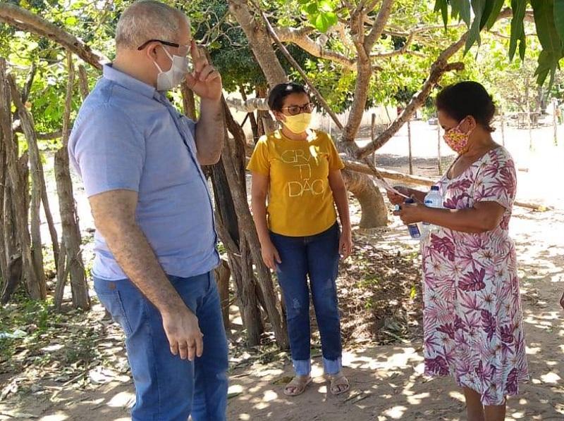 Incra entregará kits de prevenção do Covid-19 à famílias assentadas em Oeiras