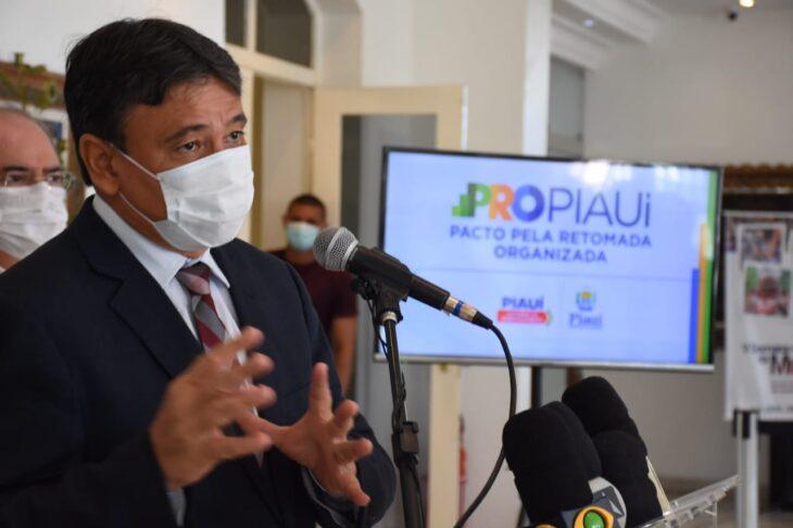 Governo do Piauí anuncia cronograma de retomada mas isolamento segue até setembro