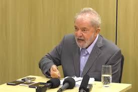 Lula em entrevista nesta sexta-feira (Foto: Reprodução)