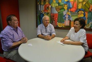 Regina Sousa se reúne com superintendente do BNB (Foto: Ascom Governo)