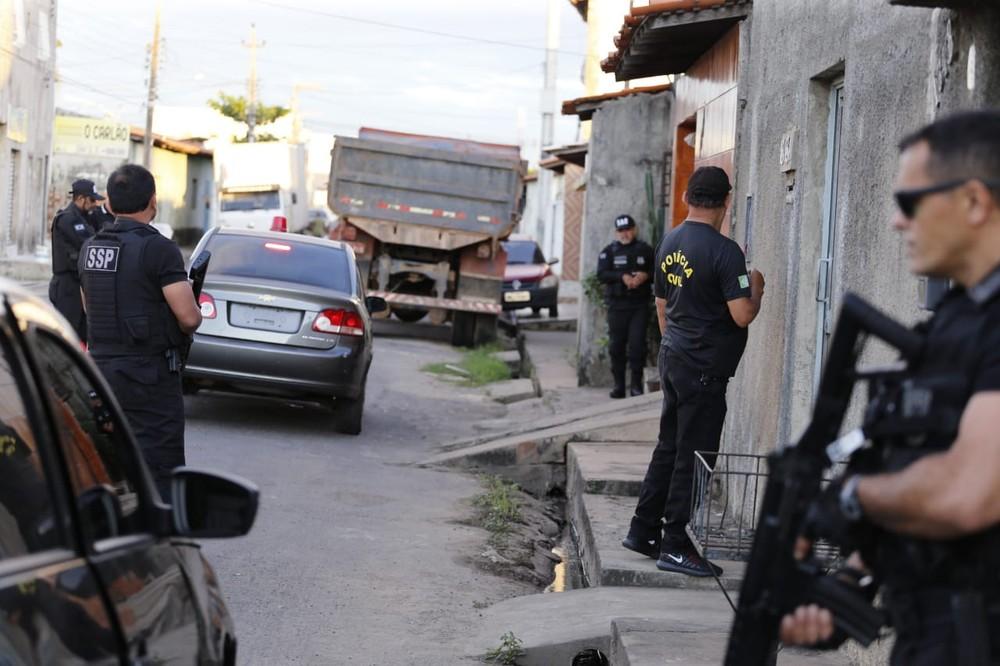 Operação Impacto (Foto: Polícia Civil)