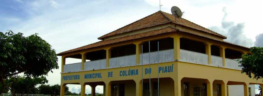 Sede da prefeitura de Colônia do Piauí (Foto: Arquivo Oeiras em Foco)