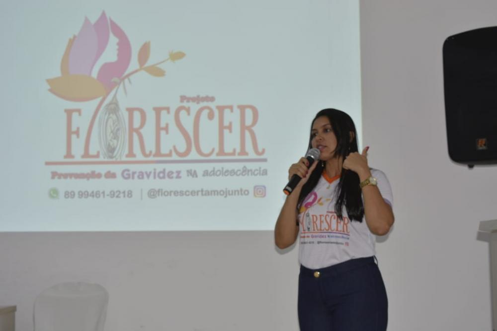 Idealizadora do projeto, Alexsandra Fontes (Ascom PMO)