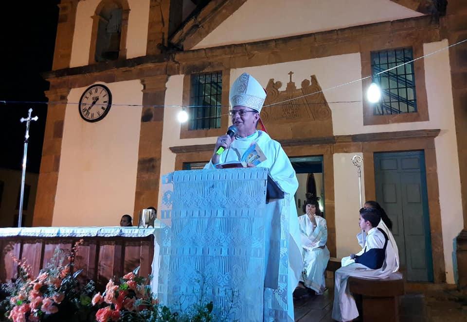 Bispo Diocesano Dom Edilson Nobre (Foto: Ascom Diocese)