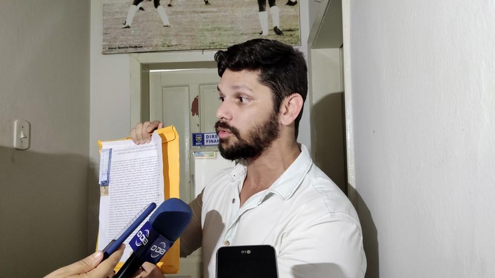Alex Amorin, diretor do Oeiras (Foto: Globo Esporte)