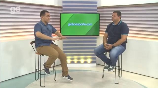 Fabiano Alex fala do Oeirense em entrevista ao Globo Esporte PI