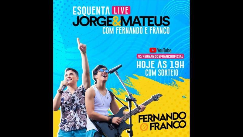 Ao vivo: Jorge & Mateus ao vivo