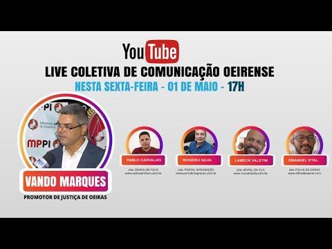 Ao Vivo: Coletiva de imprensa com o Promotor Vando Marques (17 horas)