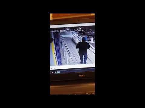 Homem assaltado em frente ao Banco do Brasil de Oeiras